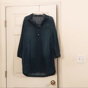 Old Navy Chambray Dress, size Large